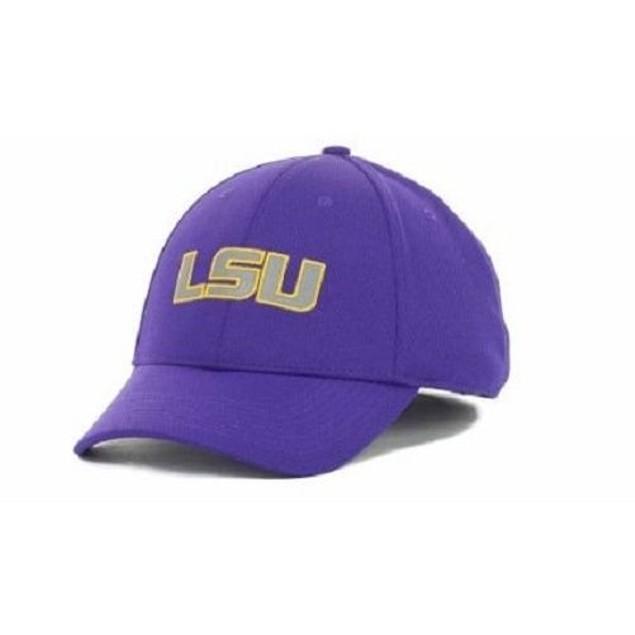 "LSU Tigers NCAA Nike ""Cool Ever"" Flex Mesh Swoosh Flex Fitted Hat"