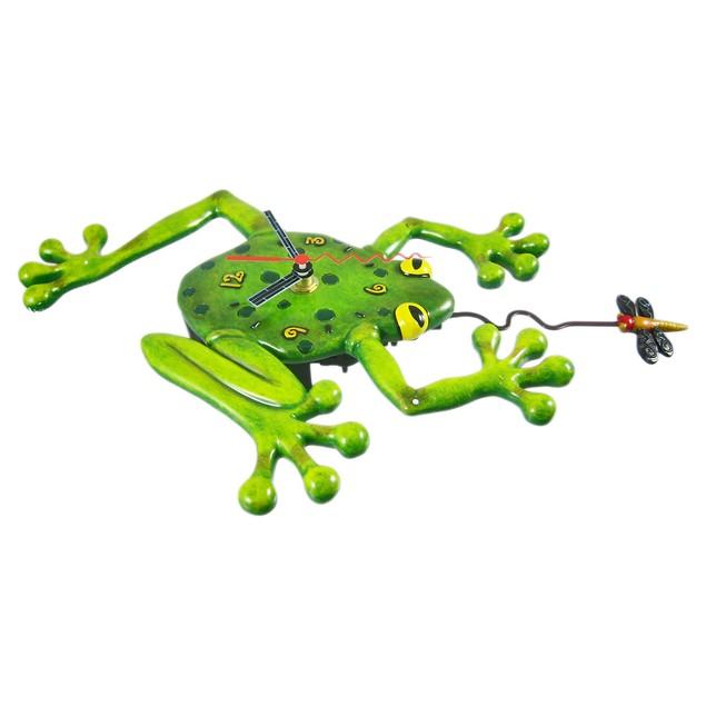 Allen Designs `Frog Fly` Pendulum Wall Clock Wall Clocks