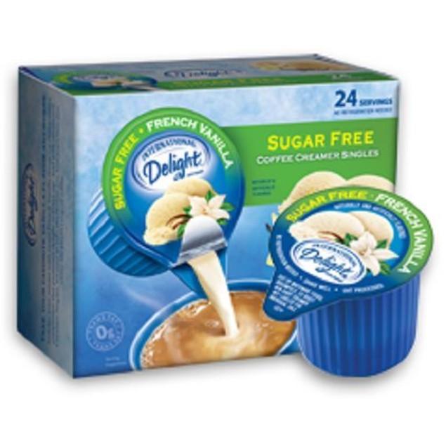 International Delight Sugar Free French Vanilla Creamer Singles