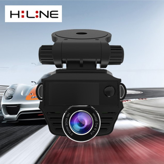 HiLine Products 2in1 Ultra Sharp HD Car DVR GPS Speed Recording + 8GB Card