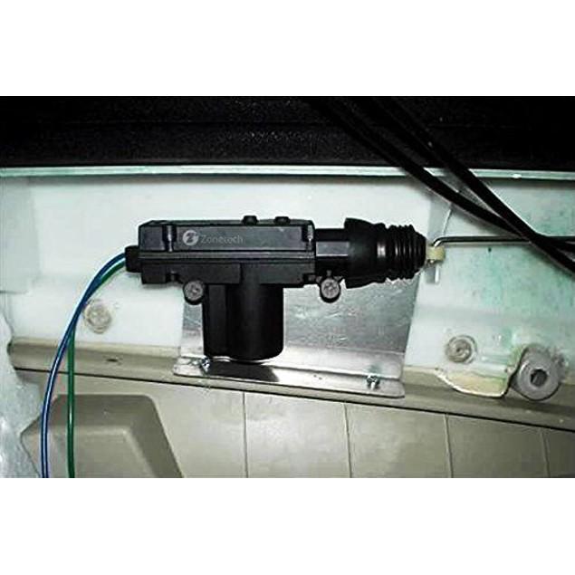 Zone Tech 4x Universal High Power Door Lock Actuator with Hardware