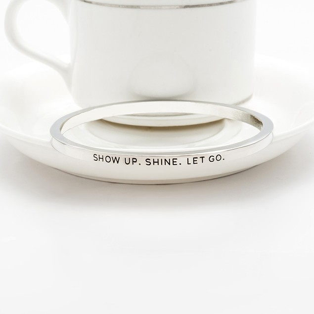 Show Up Shine Bangle Bracelet - 2 Colors