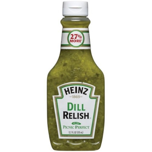 Heinz Dill Relish Picnic Perfect Squeeze Bottle