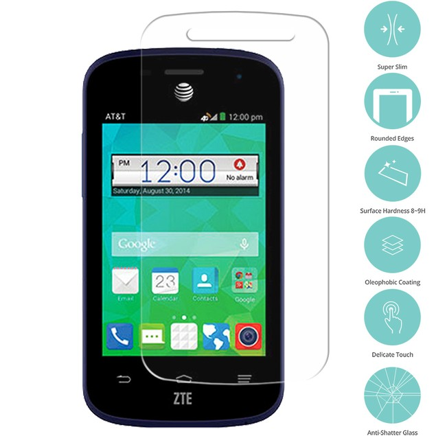 ZTE Zinger Prelude 2 Z667 Tempered Glass Film Screen Protector Clear