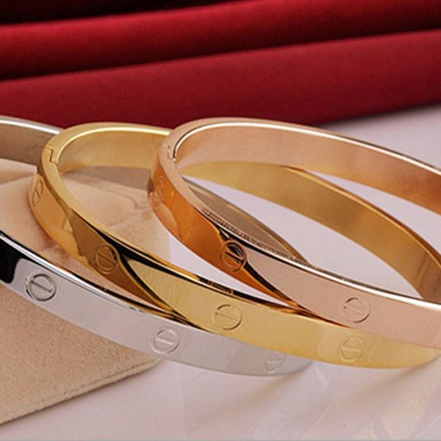 Designer Inspired Simplicity Bangle Bracelet