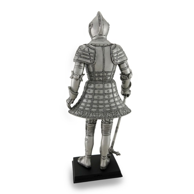 Knight Wearing Full Tonlet Armor Sculptural Statue Statues