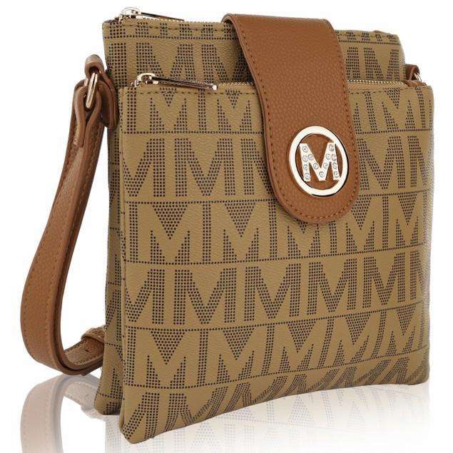 MKF Collection Denizli Milan M Signature Cross Body Bag by Mia K Farrow
