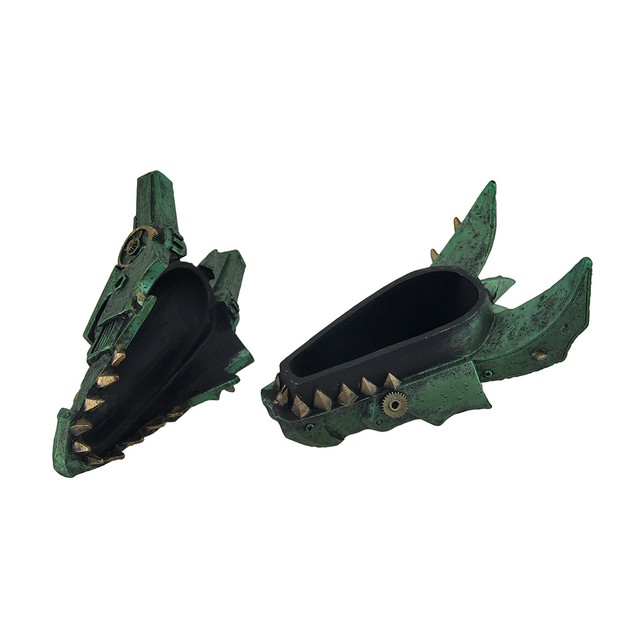 Mechanical Steampunk Dragon Head Decorative Decorative Boxes