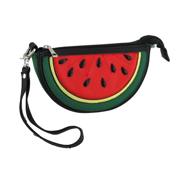 Sleepyville Critters Watermelon Slice Cross Body Womens Cross Body Bags
