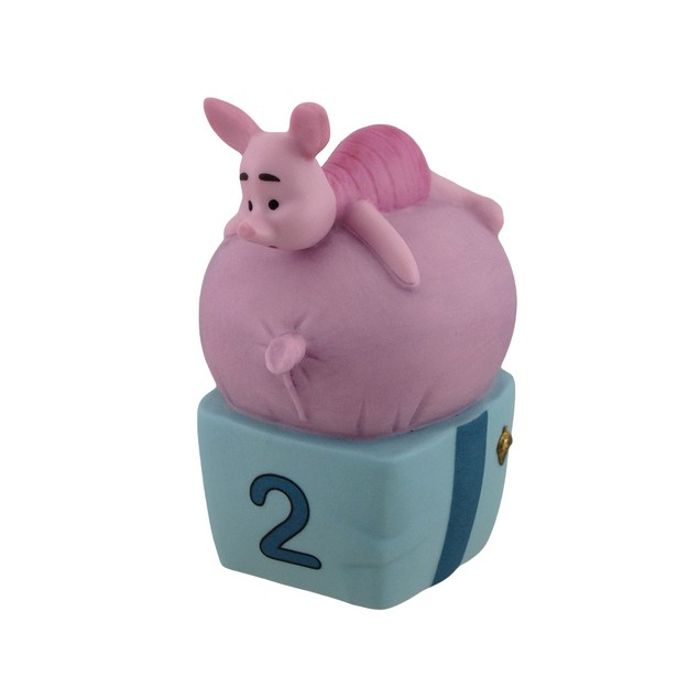 Disney Pooh & Friends Figurine Piglet Two Is For Statues