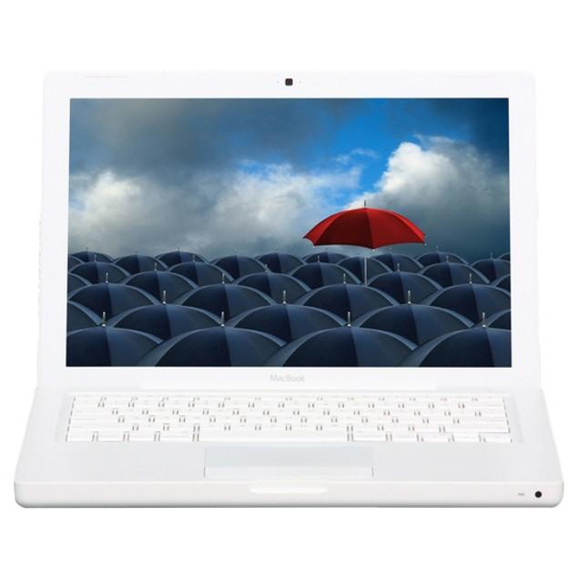 "Apple 13.3"" MacBook MC240LL/A, Core 2 Duo, 4GB RAM, 160GB HDD (Grade B)"
