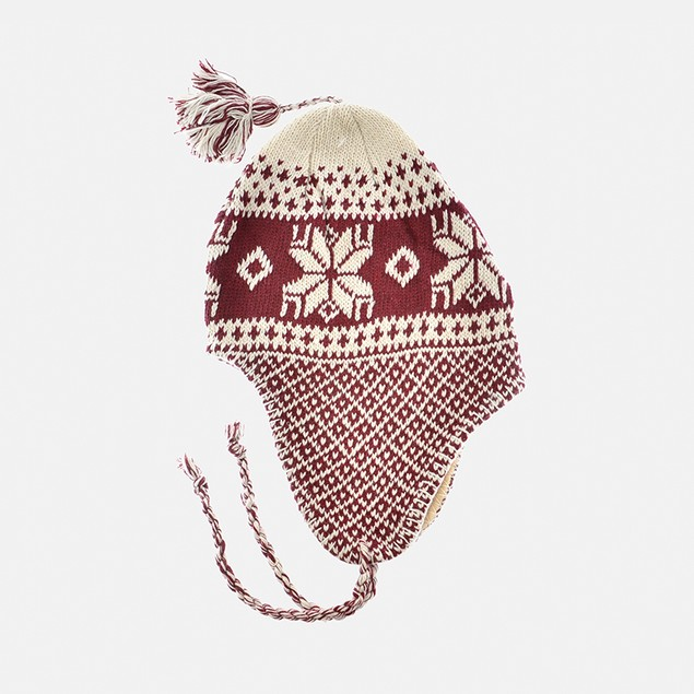 Boys Knit Helmet Hat