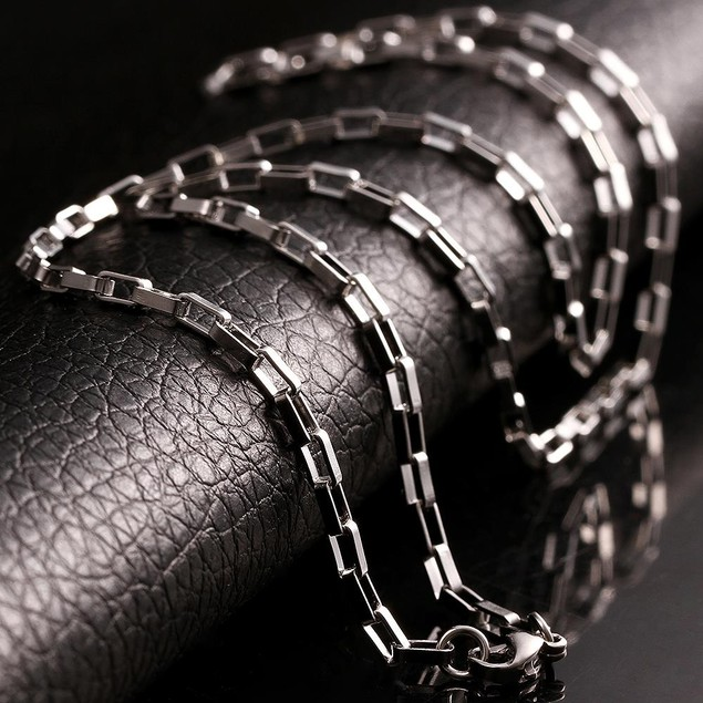 Classic 5th Avenue Stainless Steel Chain 24 inches