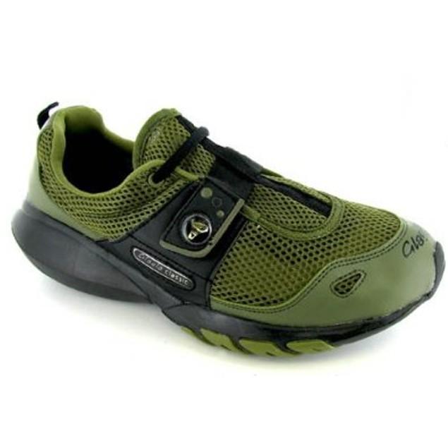 Glagla Classic Mesh Ventilated Water Shoes Lightweight Mens - Khaki & Black