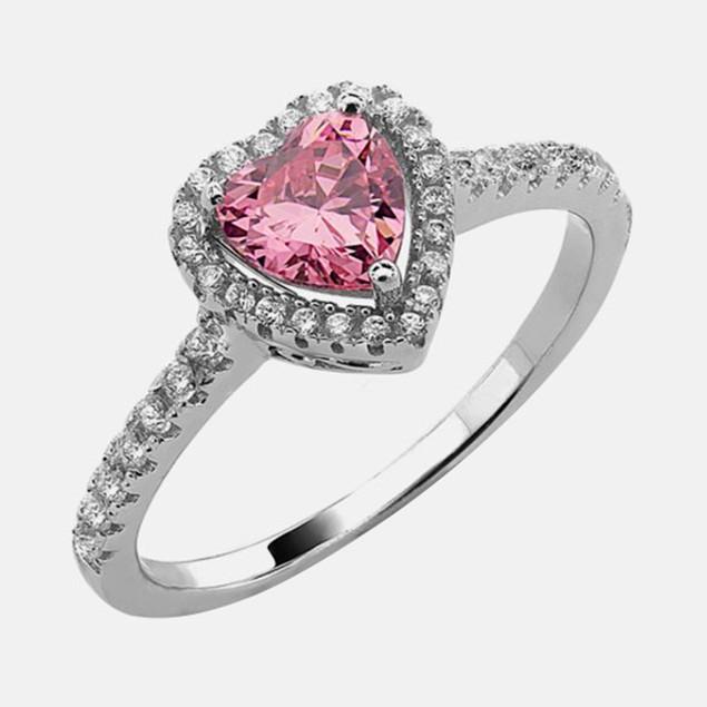 .925 Sterling Silver Birthstone Ring - July