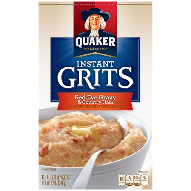 Quaker Red Eye Gravy & Country Ham Instant Grits