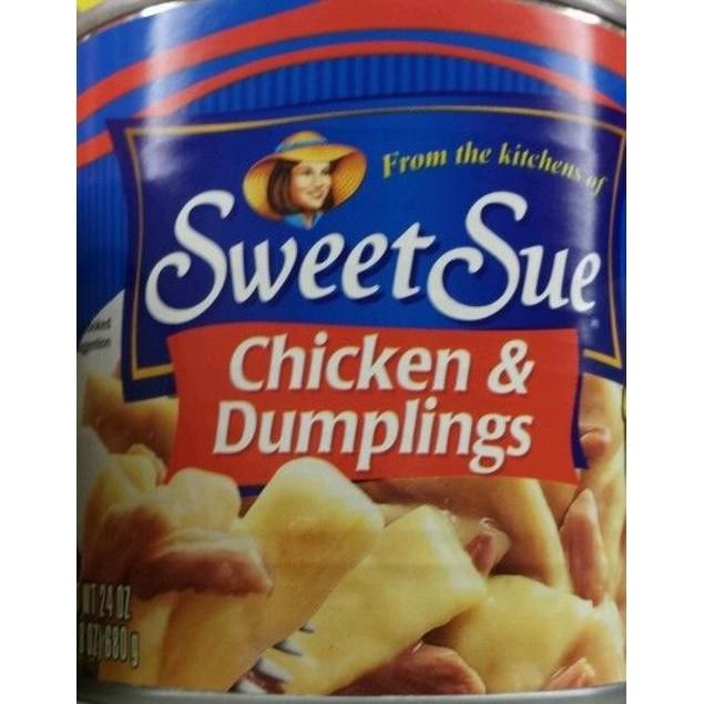 SWEET SUE CHICKEN & DUMPLINGS 24 OZ