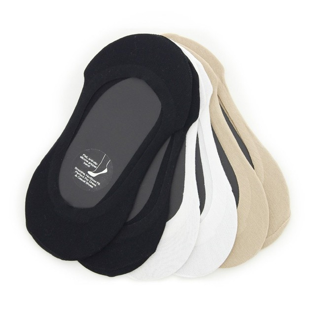 6 Pairs Women's Foot Liner Socks