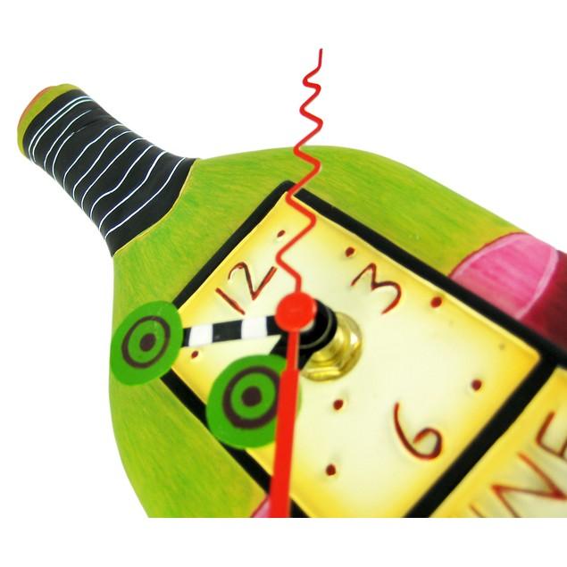 Allen Designs `Wine Time` Pendulum Wall Clock Wall Clocks