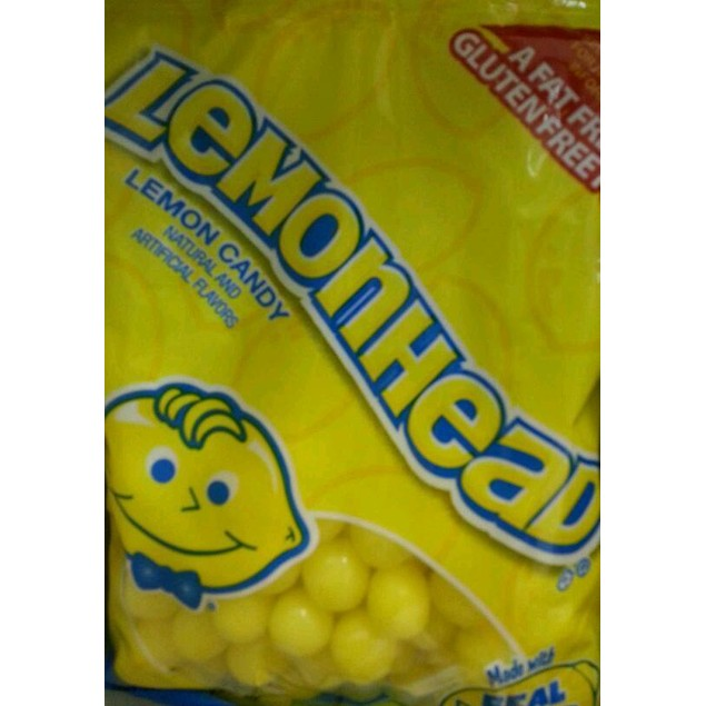 Lemonhead Lemon Candy 6oz Bag