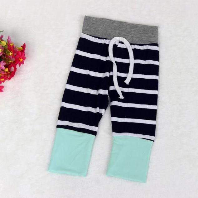 Baby Boys Stripe Long Sleeve Tops, Long Pants, Hat Set