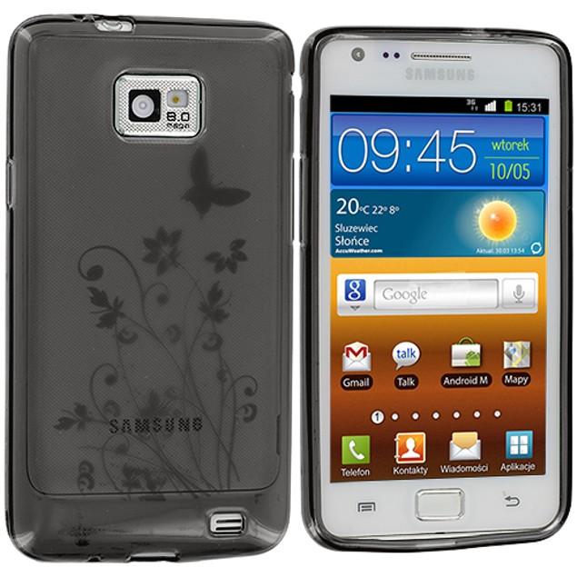 Samsung Galaxy S2 i9100 TPU Rubber Case Cover
