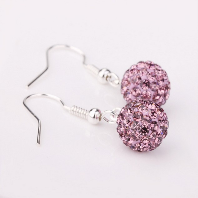 Genuine Austrian Crystal Birthstone Earrings