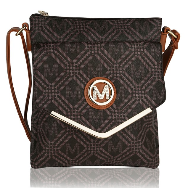 MKF Collection Cahier Milan M Signature Cross body by Mia K Farrow