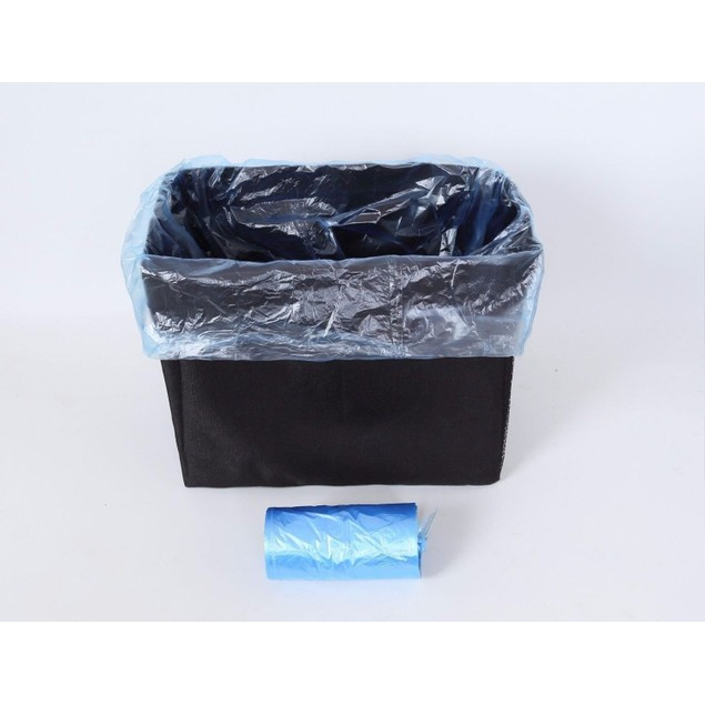 Zone Tech Trash Bag Garbage Can Car Litter Organizer Leakproof Liners Waste