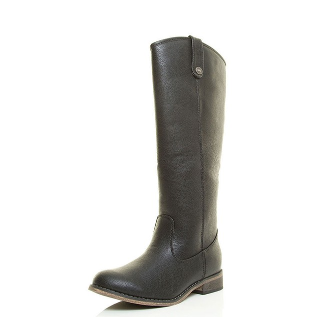 Mata Women's High Calf Riding Boots