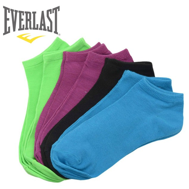 Everlast Women Colorful Low Cut No show Ankle Socks