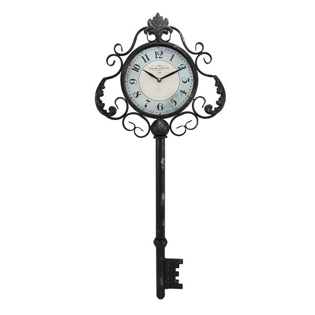 Decorative Antique Key Shaped Wall Clock Wall Clocks