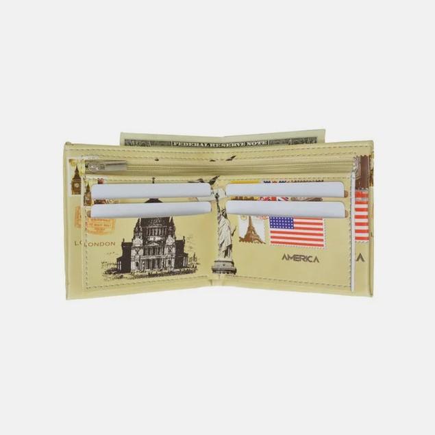 Fun Fashion Billfold Wallet