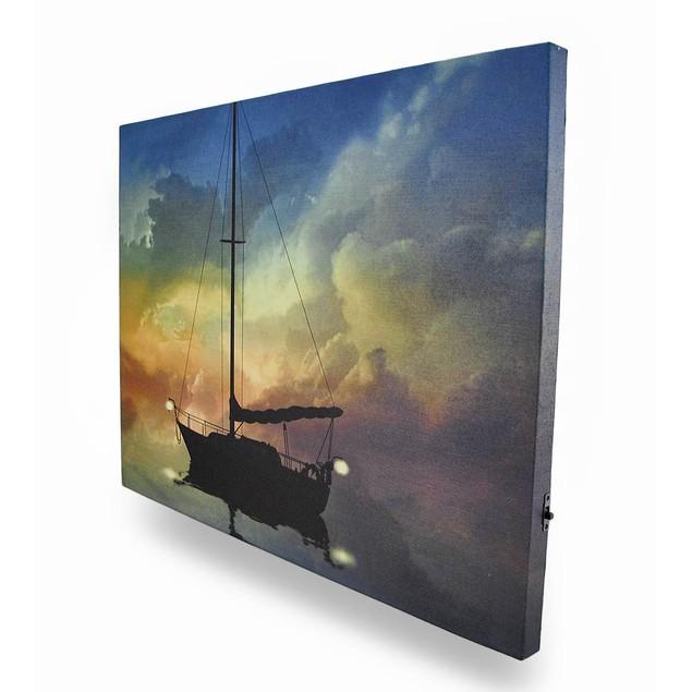 Guiding Light Flickering Light Led Nautical Canvas Prints