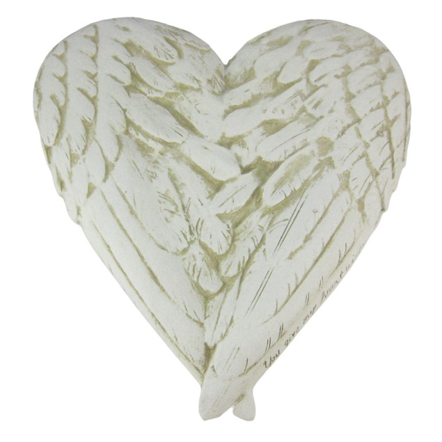 You Give My Heart Wings Faux Marble Wall Plaque