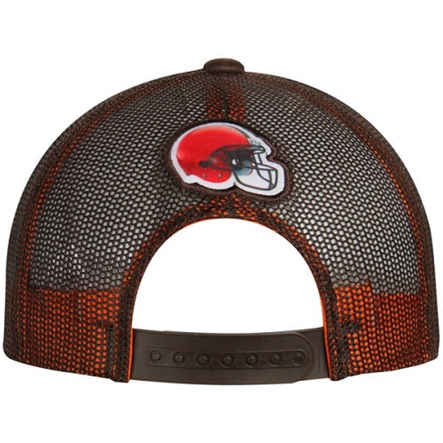 Cleveland Browns NFL Outerstuff Youth Snapback Flat Bill Hat