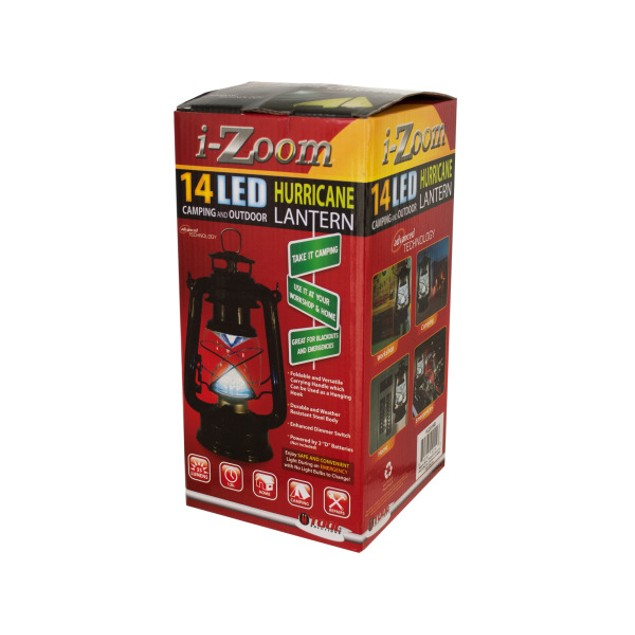 Classic 14 Led Hurricane Lantern With Dimmer Switch