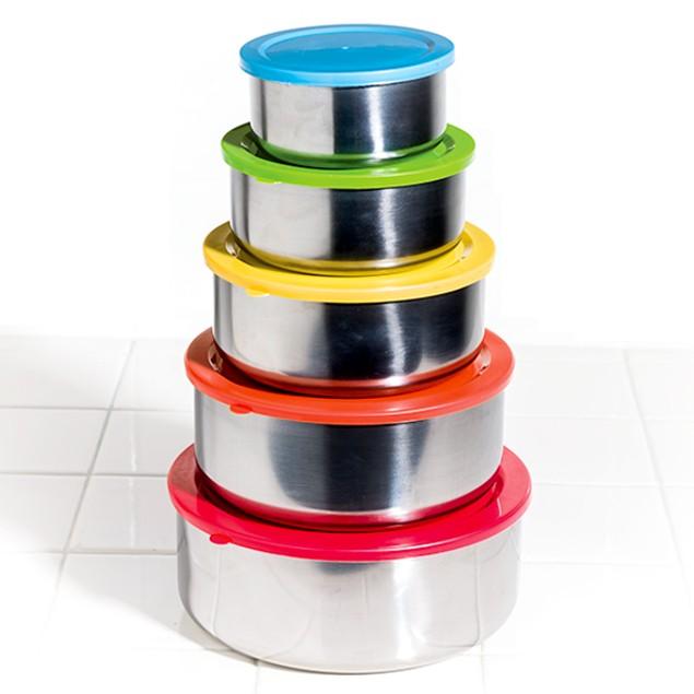 10-Piece Multi-Purpose Bowls & Snap Lids