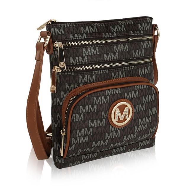 MKF Collection Iris M Signature Crossbody Bag by Mia K. Farrow