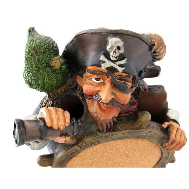 Wacky Pirate Captain Tabletop Pinboard Cork Board Chalkboards