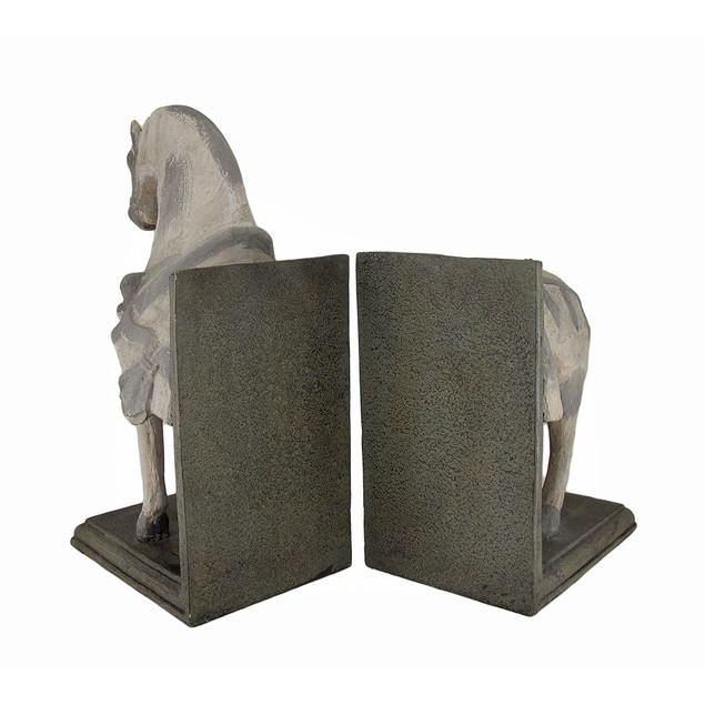 Imperial Horse Head And Tail Bookends Set Of 2 Decorative Bookends