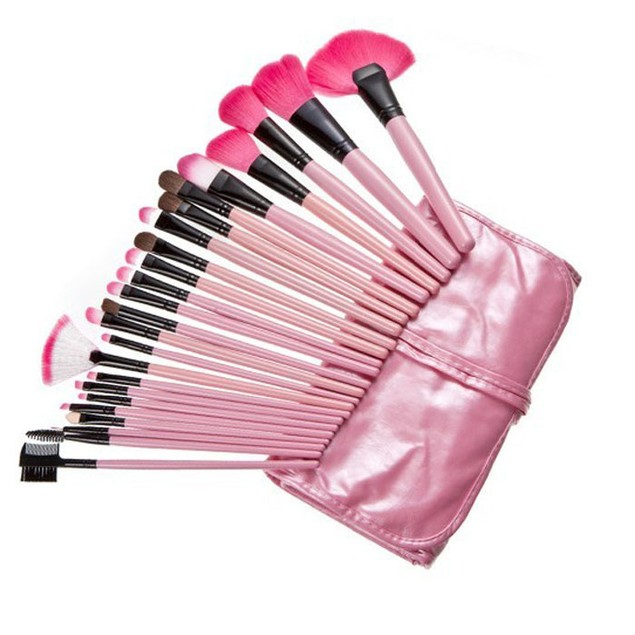 24-Piece Superior Soft Cosmetic Makeup Brush Set