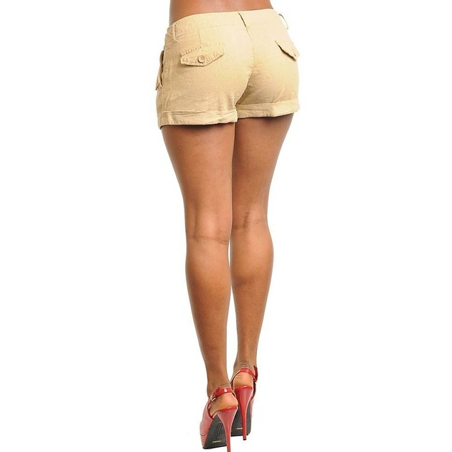 TAUPE JUNIORS SHORTS NEW AVAILABLE IN S,M,L