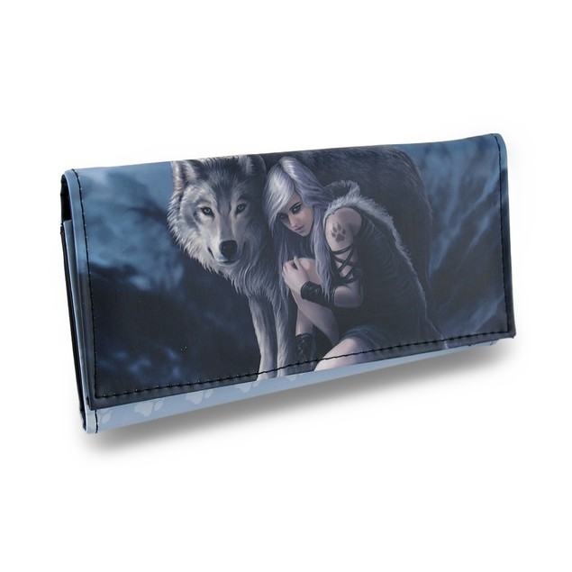 Protector By Anne Stokes Faux Leather Gothic Womens Wallets
