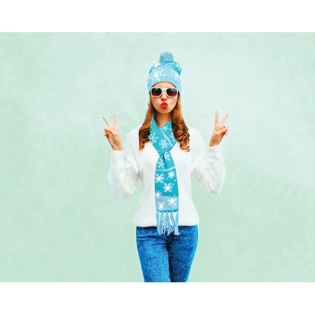 Lotsa Lites! Flashing Holiday Knitted Hat