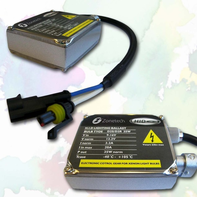 Zone Tech 1 Premium 35W AC Universal Replacement HID Ballast