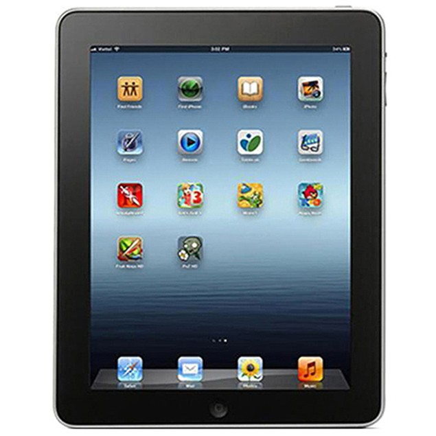 Apple iPad MB292LL/A 1st Generation, 16GB Wi-Fi Black (Grade C)