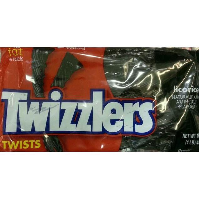 Twizzlers Black Licorice Twists