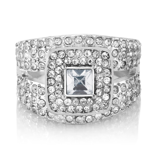 10cttw Cubic Zirconia Fashion Cocktail Ring