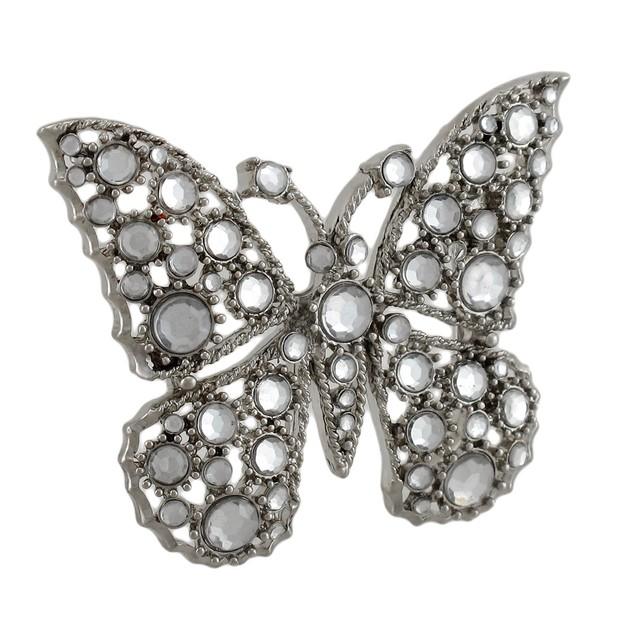 Crystal Rhinestone Butterfly Belt Buckle Mens Belt Buckles